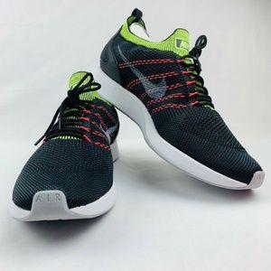NEW Nike Air Zoom Mariah Flyknit Racer Black Green
